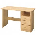 PC stůl 8844 borovice masiv lakovaný