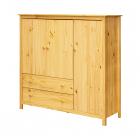 Komoda TORINO 8079 tři dveře dvě zásuvky borovice masiv