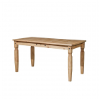 Jídelní stůl 16111 CORONA 152 x 92 borovice masiv vosk