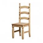 Jídelní židle CORONA 160204 borovice masiv vosk