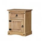 Noční stolek CORONA 16345 borovice masiv