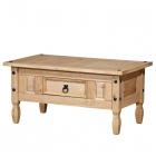 Konferenční stolek CORONA 163910 borovice masiv vosk