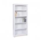 Knihovna ANKE ID20900580 borovice masiv bílý lak