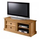 TV stolek CORONA 161017 borovice masiv vosk