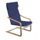 Relaxační křeslo LISA modré