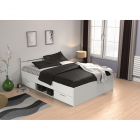 Multifunkční postel MICHIGAN 200 x 140 bílé