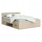 Multifunkční postel MICHIGAN 200 x 140 dub sonoma