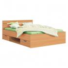 Multifunkční postel MICHIGAN 200 x 140 buk