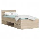 Multifunkční postel MICHIGAN 200 x 90 dub sonoma