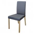 Jídelní židle PRIMA šedá látka