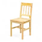 Jídelní židle CAROLINO borovice masiv lakovaná