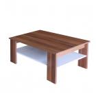 Konferenční stolek 67950 ořech/bílá