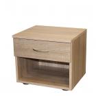 Noční stolek 50140 dub sonoma jedna zásuvka