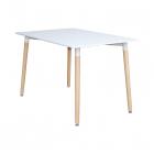 Jídelní stůl 120x80 UNO bílý