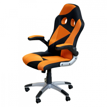 Křeslo Racer orange