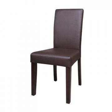 Židle Prima hnědá