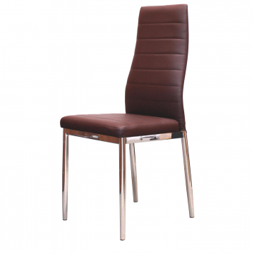 Židle Miláno hnědá